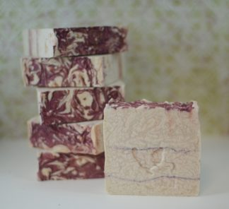 rose vanilla soap